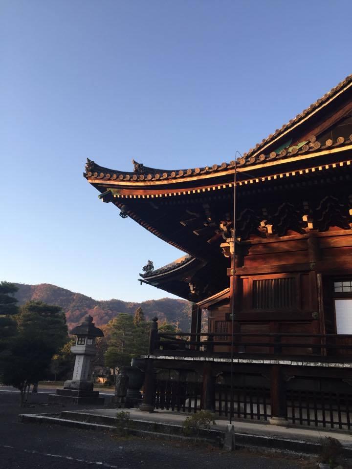 清涼寺の三千礼拝